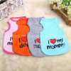 I Love My Mommy or Daddy  Cotton Dog Vest Pet Clothes