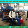 Máquina que moldea del bloque diesel Qt4-30 en Nigeria