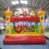 Castelo inflável dos Bouncers com impressão para miúdos/castelo inflável interno pequeno do Bouncer para miúdos