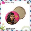Espejos baratos modificados para requisitos particulares del estaño de la promoción del pequeño espejo cosmético