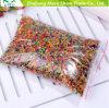 La venta directa de suelo cristalino multicolor del gel de la jalea de bolas perlas de agua boda decoración del hogar