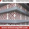 Matériau composé en aluminium de revêtement de mur de panneau