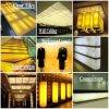 Königliches Dekoration-Licht-lichtdurchlässige feste Oberflächenpanels