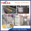 Einfache Geschäfts-automatische elektrische Kartoffelchip-Schneidmaschine-Pommes-Fritesaufbereitende Zeile