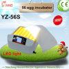 Incubatrice dell'uovo del più nuovo modello di Yz-56s 2017 mini con l'indicatore luminoso del LED