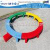 Campo de jogos plástico do equipamento ao ar livre circular do jogo das crianças da ponte (HF-22110)