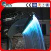 LEDは軽いステンレス鋼の屋内壁の滝を着色する