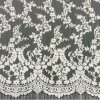 Diseño romántico del cordón blanco de la pestaña para la ropa