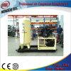 compresor de aire del pistón 1.2m3 en uso del laser