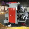 Zwei Farben-Plastikfilm-flexographische Drucken-Maschine
