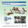 MAC6 السلسلة 3 في 1 مضاعفات مستقيم المغذية للطاقة آلة الصحافة