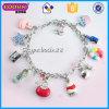中国の工場銀カラーカスタム魅力のブレスレットの宝石類の卸売