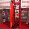 Únicos Cage e Double Cages 1t /2t Construction Elevator Lifter