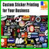 PVC 레이블 접착제 스티커를 광고하는 커트를 정지하십시오