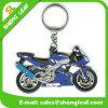 3D Motorcycle pvc van de douane Rubber Key Chains (slf-KC023)