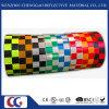 2  X150 PVC反射安全テープ警告の付着力のチェック模様のConspicuityのマーキングテープ