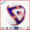 Calcio Ball con la bandiera americana
