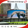 Patent cilindrico P10 Outdoor Fullcolor LED Video Screen per Avertising