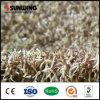 El ocio pone a tierra la estera artificial sintetizada de la alfombra de la hierba