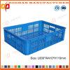 슈퍼마켓 플라스틱 과일 회전율 바구니 식물성 전시 콘테이너 상자 (Zhtb8)