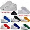 Chaussures de patin Chaussures classiques Chaussures blanches à bas prix OEM