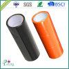 粘着テープを詰める黒いおよびオレンジカラーBOPP