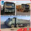 Steyr-Enigne 30~40ton/18cbmの元の8*4-Driving-Form Sinotrukによって使用されるダンプカーHOWOのダンプトラック