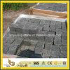 海南の黒い玄武岩の敷石/ペーバーの石/立方体の石