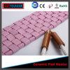 Pista de calefacción de cerámica flexible eléctrica
