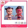 Het grappige UV Gevoelige RubberStuk speelgoed verbrandde Doll