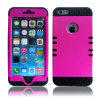 Zwei Tone Armor Impact Defender Hybrid Double Layer Handy Fall für iPhone 6