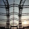 Trabajo estructural de la estructura de acero del trabajo de acero