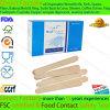 Bastone a perdere della linguetta di legno di betulla di uso medico