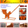 Qmr2-40機械装置を作る手動セメントの土のLegoのブロック