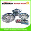 Jeu en céramique de vaisselle de type oriental occasionnel