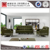 Sofà sezionale del salotto della mobilia di cuoio verde del salone (NS-D6306)