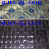 Квадратное Crystal Glass Faces Mirror Mosaic Tile для Wall