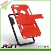 TPU Frame+Plastic mueven hacia atrás la caja del teléfono celular de Kickstand para el iPhone 6/6s (RJT-0111)