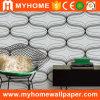 Projeto não tecido material do papel de parede da decoração interior