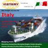 LCL/FCL Logistics From Shenzhen Ningbo Shanghai Guangzhou a Genoa Italy