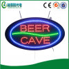 Bar Shop (HSB0192)のための楕円形のIndoor LED Beer Cave Sign