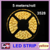 3528의 LED 지구 300 LEDs 황색 5 미터