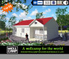 Casa prefabricada modular modificada para requisitos particulares verde
