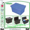 Caixa de armazenamento logística da modificação plástica da loja da farmácia