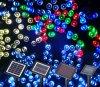 200LEDセリウムのRoHSの屋外の太陽クリスマスストリングはLEDのクリスマスをつける