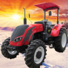 Sale chaud 75HP Drive à quatre roues Diesel Farming Tractor (CHHGC754)