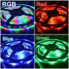 3528 C.C. 12V+ IR Remote Control (^GG06) del RGB Waterproof LED Strip (tarjeta blanca) Flexible Light 270 LED SMD 5m