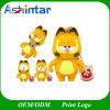 Lecteur flash USB de chat de Garfield de dessin animé de Pendrive de clé de mémoire USB de dessin animé