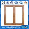Indicador de deslizamento de madeira /Doors do PVC da cor do perfil de UPVC e fábrica de Windows