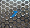 Foro esagonale che perfora, maglia perforata di vendita calda del metallo dei fori esagonali